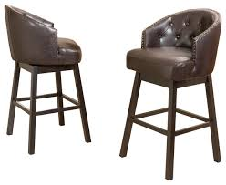 Bar Stool Sets Of 2 Adjustable 30 Barstool Set Of 3 Metal Espresso 2 In Bar Stool