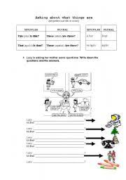 english teaching worksheets demonstratives