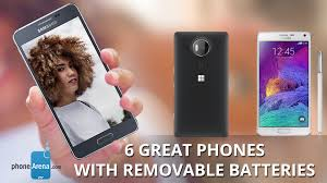 Removable by 6 Great Phones With Removable Batteries Youtube