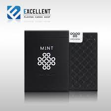 1pcs mint or black deck cards size uspcc launch
