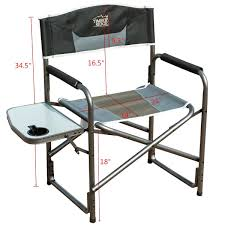 The Directors Chair On The Set Amazon Com Timber Ridge Aluminum Portable Director U0027s Folding