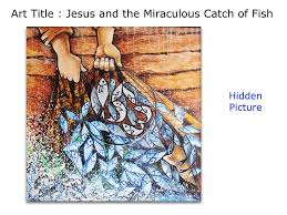 jesus and the miraculous catch of fish christian art youtube