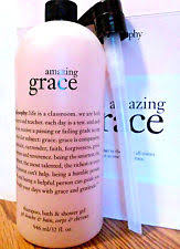 philosophy bath and shower gel philosophy grace shoo bath shower gel 32 oz ebay