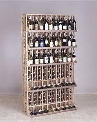 horizontal wine display commercial wine rack