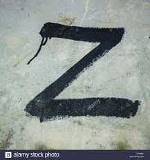 z the last letter in the alphabet stock photo royalty free image