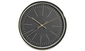 clocks ova wall clock boconcept