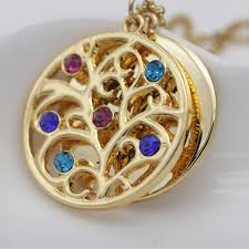 Custom Birthstone Necklaces Aliexpress Com Buy Personality Family Tree Pendant Necklace With