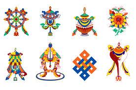 Buddhist Treasure Vase Eight Auspicious Signs Of Good Fortune In Tibetan Buddhism