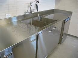 Stainless Steel Kitchen Cabinets Pretty Stainless Steel Commercial Kitchen Cabinets 66 With 33602