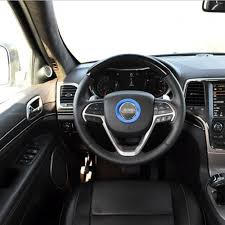 jeep cherokee sticker steering wheel decorative cover frame trim sticker for jeep