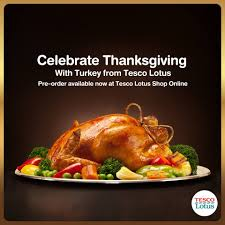 pre order our herb fed roasted turkey tesco lotus เทสโก