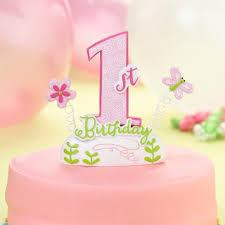 lillian cake topper baby s birthday cake topper pink target