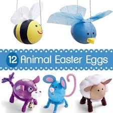 Easter Egg Decorating Animals by 12 Easter Eggs That Look Like Animals By Dariela Cruz Via Spoonful