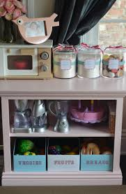 play kitchen love the bins for fruits and veggies for learning