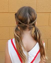 coolest girl hairstyles ever 50 quick and easy girls hairstyles crisscross braid pigtails