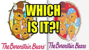 berestein bears berenstain or berenstein bears conspiracy theory