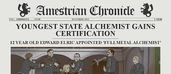 Fullmetal Alchemist Kink Meme - the amestrian chronicle