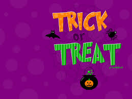 trick or treat wallpaper wallpapersafari