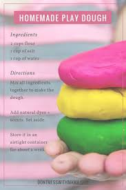 diy natural play dough scented with essential oils natural play