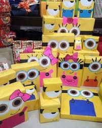 minion gift wrap emballage cadeau original 40 idées avec des