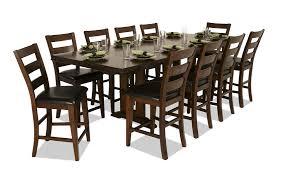11 dining room set counter 11 dining set bob s discount furniture