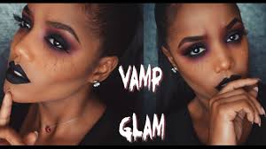 vampire demon glam halloween makeup tutorial ellarie youtube
