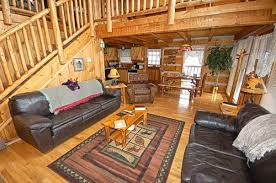 Cabin Sofa Somewhere In Time 2 Bedroom Vacation Cabin Rental In Pigeon Forge Tn