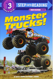 monster trucks tv show amazon com monster trucks step into reading 9780375862083