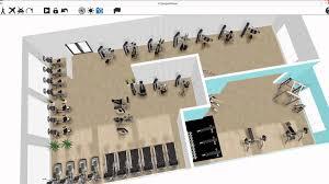 Interior Designers Software by Ecdesign 3d Gym Design Software Youtube