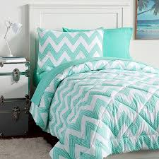 Teen Queen Bedding Pb Teen Zig Zag Stripe Value Comforter Set Twin Pool 119