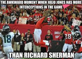 Richard Sherman Memes - nfl memes on twitter julio jones richard sherman http t co