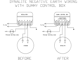 lucas c40 dynalite negative earth