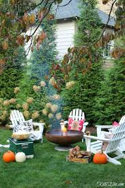 my cozy fall backyard reveal kelly elko