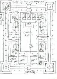 minecraft blueprints higuchi castle floor map by higuchiphoenix