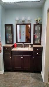Modular Bathroom Vanity by Glacier Bay Modular 30 1 2 In W X 18 3 4 In In Java With Solid