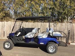 new 2017 e z go personal express l6 gas golf carts in trevose pa