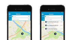 trail of lights parking local traffic solution app helps visitors plan their trip to the