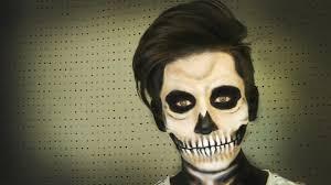 imagenes de calaveras hombres maquillaje de calavera skull make up halloween soy georgio