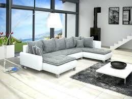 canap blanc gris canape canape blanc design cuir relax noir et 2 places canape