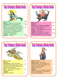 hindu gods top trumps 1 by bexmo teaching resources tes
