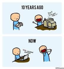 Mail Meme - you got mail 10 years ago vs now meme viral viral videos