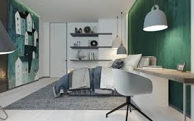 green bedroom decorating ideas for teenager bring out a cheerful