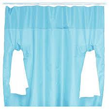 Aqua Blue Shower Curtains Utility Shower Curtain Modern Shower Curtains By Wintercheck