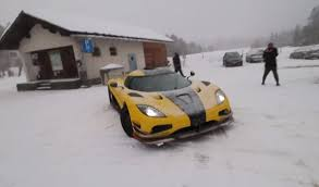 koenigsegg snow koenigsegg agera rs
