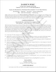 Free Download Sales Marketing Resume Resume Cv Format Example