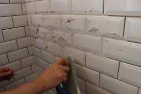 how to grout subway tile grout time to add the grout full size of kitchenmini