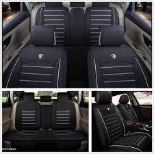 standard type linen fabric material sedan car seat cover protector