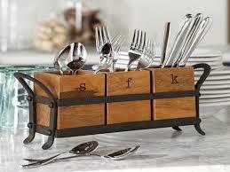 Blacksmith Home Decor Luxury Design Of The Oneida Flatware Caddy Vintage Blacksmith