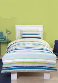 Single Bed Sets Just Kidding Stripe Single Duvet Set
