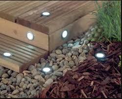 solar power led deck lights floor lamp stair light ip67 outdoor